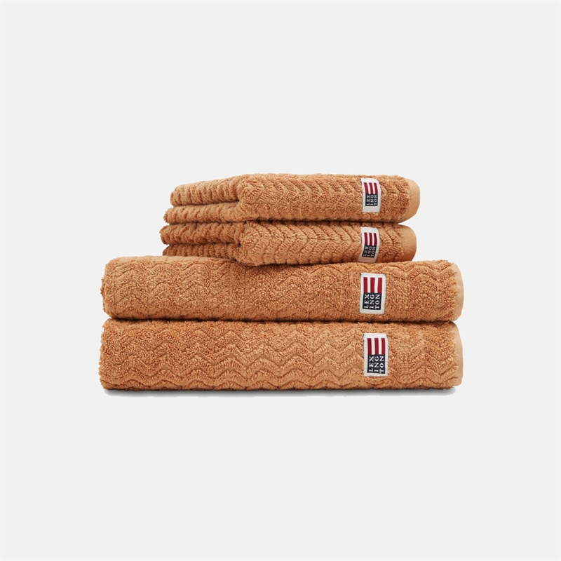mariella-lexington-handduk-bomull-tencel-terry-towel-caramel