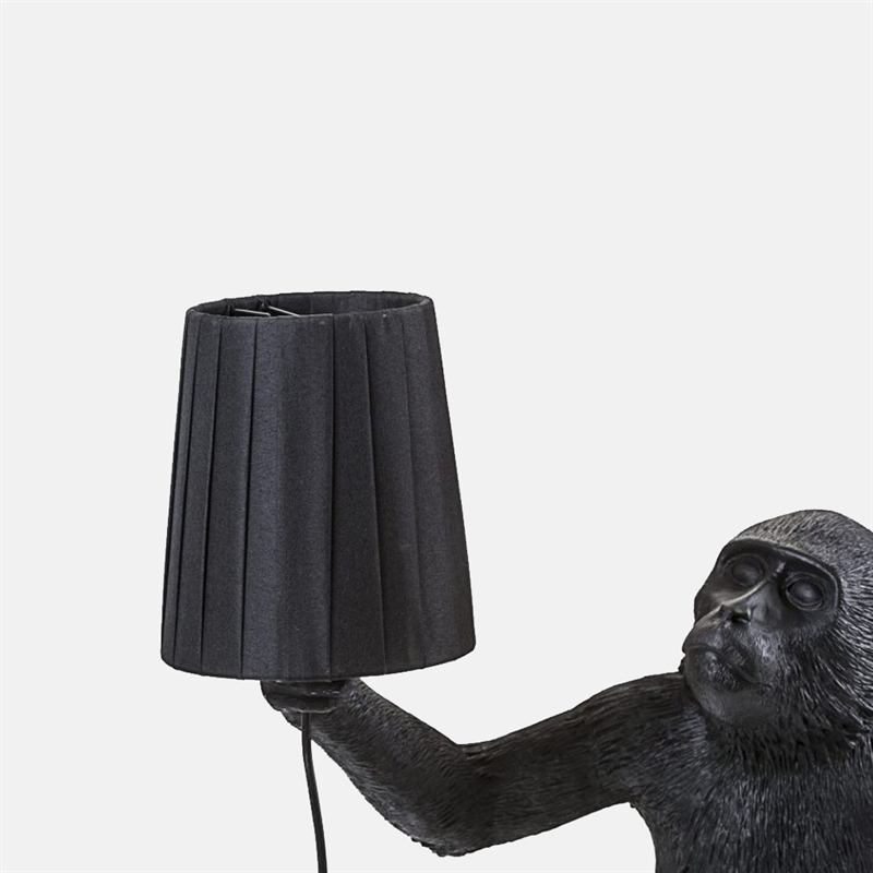 mariella_seletti_monkey_lamp_black_lampshade_monkey