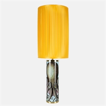 mariella_fornasetti_cylindrical_pleated_lampshade_yellow